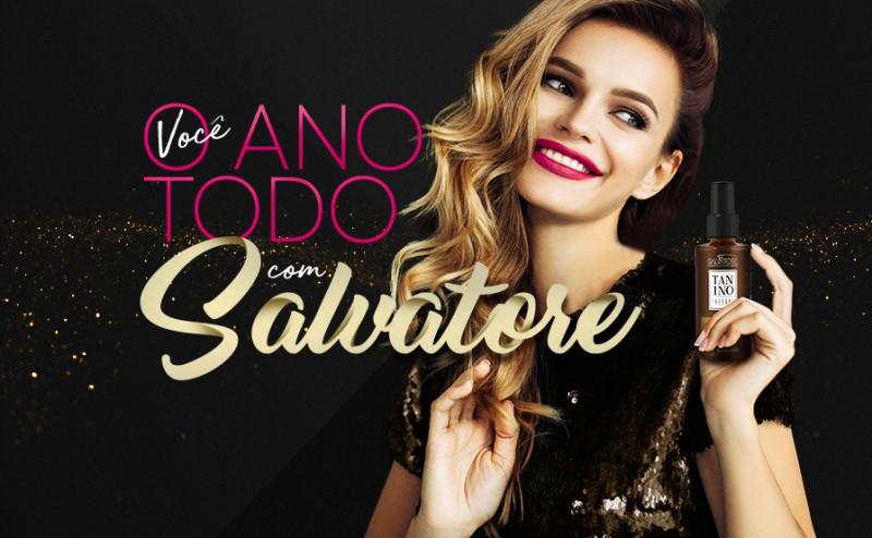 52313d8086b2d Você com Salvatore O ANO TODO - Revista Salvatore CosméticosRevista  Salvatore Cosméticos
